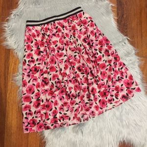 Silk Kate Spade Flower Skirt Size 6